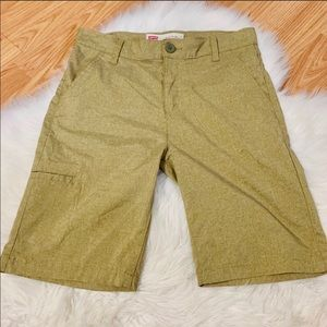 Levi's Khaki Slim Fit Shorts Size 16 Boys
